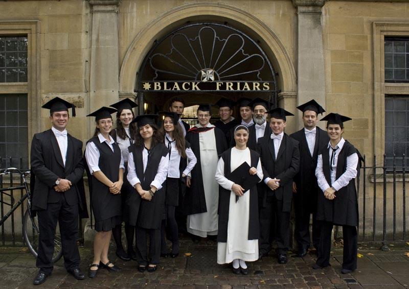 Blackfriars Oxford students