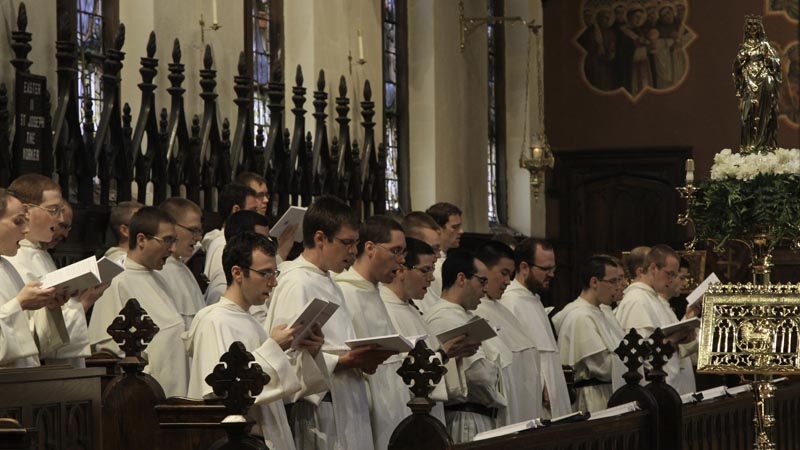 Dominicans in choir