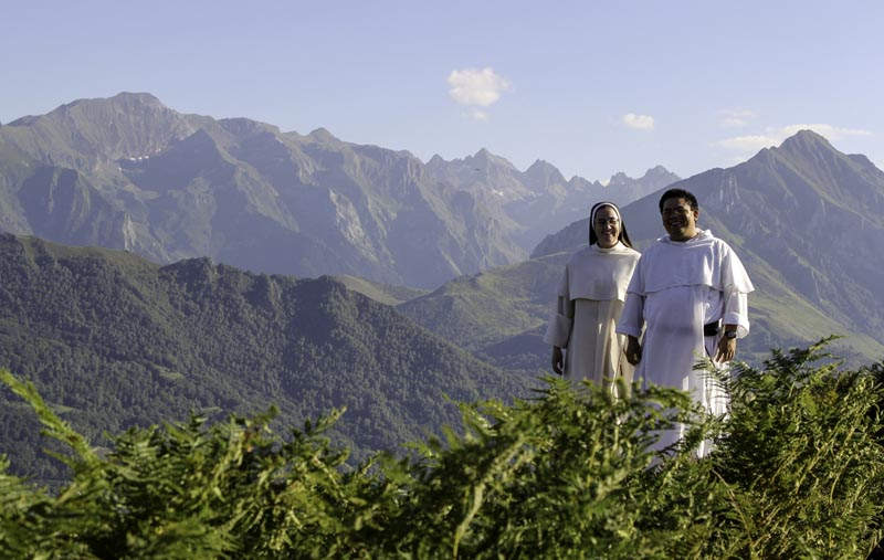 Dominicans in Pyrenees