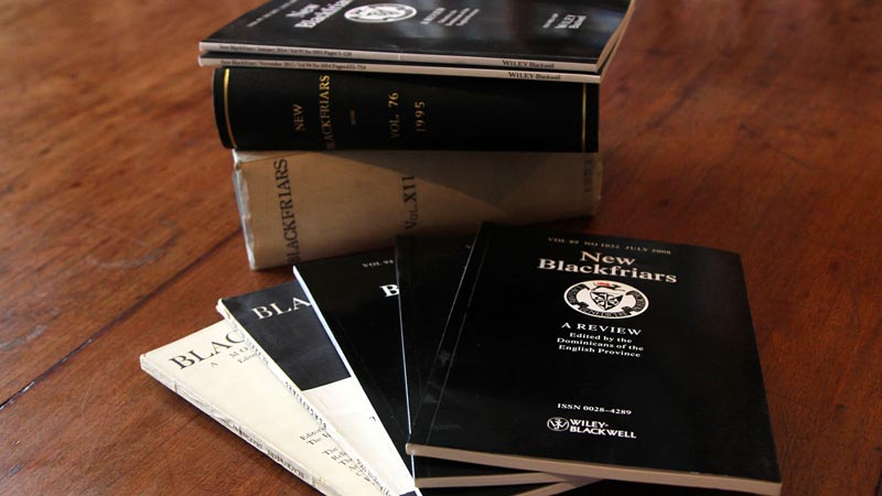 New Blackfriars journal