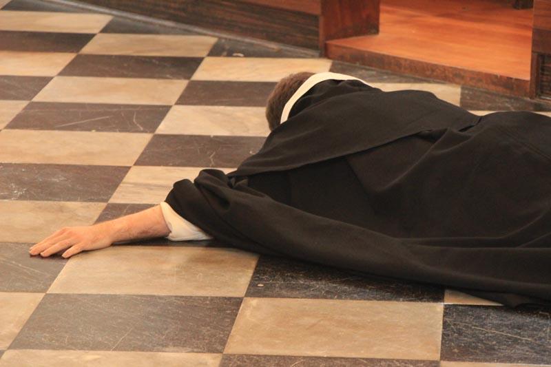 Profession prostration