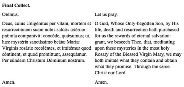 Rosary card 12