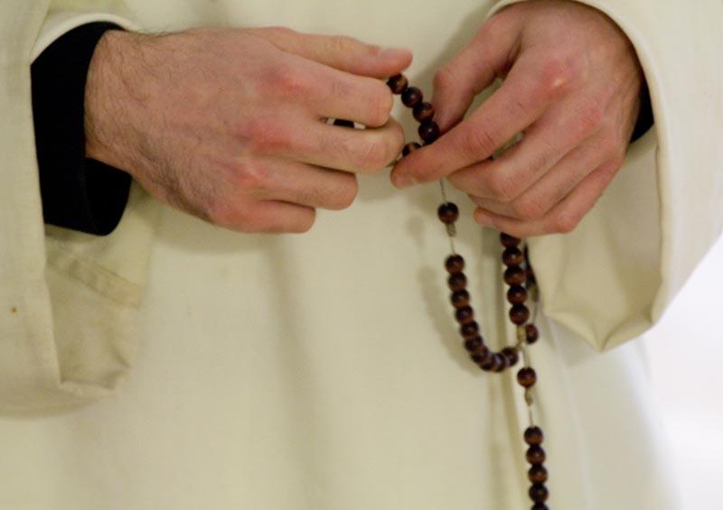 Rosary prayed