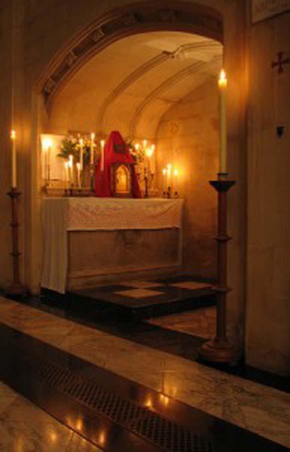 Altar of Repose in Blackfriars
