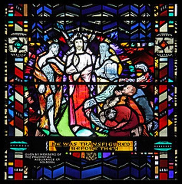 The Transfiguration glass