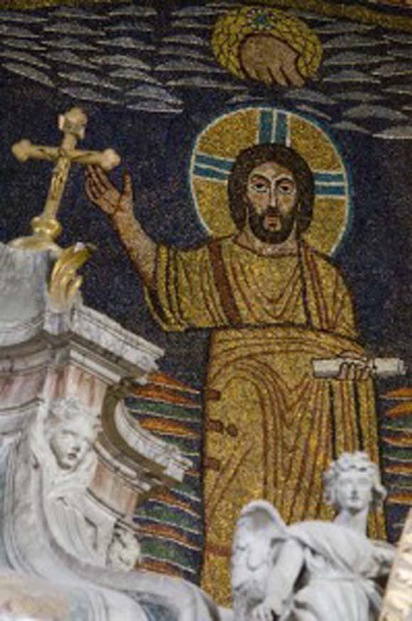 Christ in the Apse of Santa Prassede