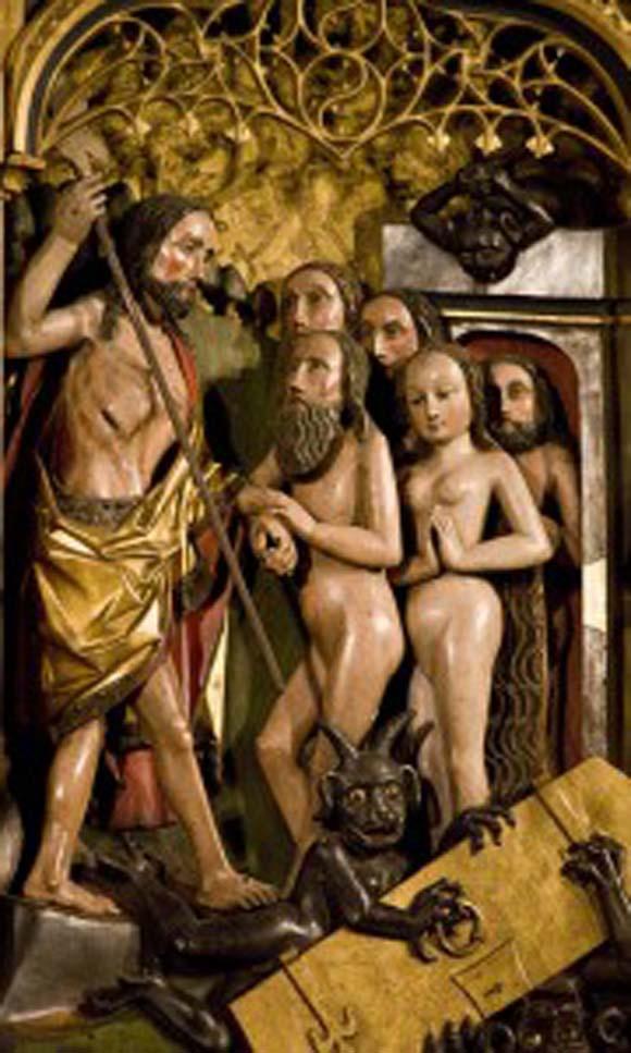 Christ freeing Adam & Eve