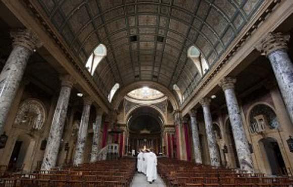 Inside the Birmingham Oratory