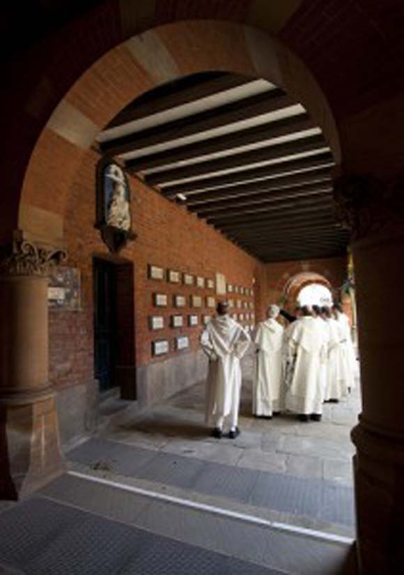 In the Oratory Cloister