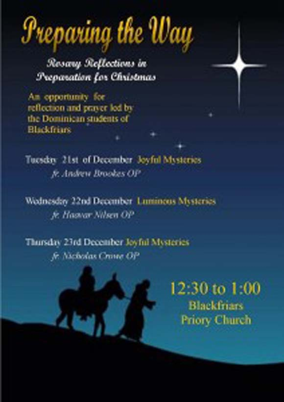 Rosary Reflections in Christmas Week
