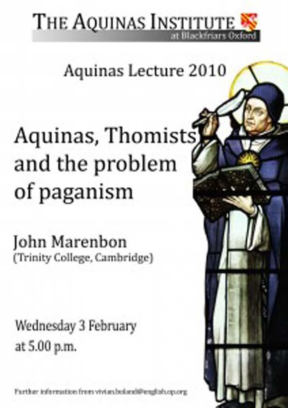 2010 Aquinas Lecture