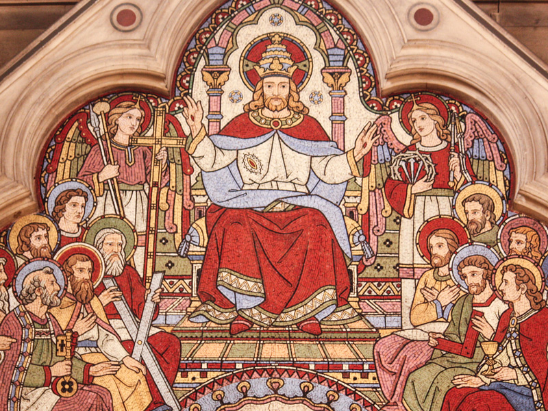 The Majesty of Christ Crucified