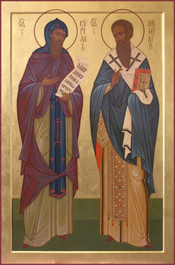 14th February – SS Cyril and Methodius