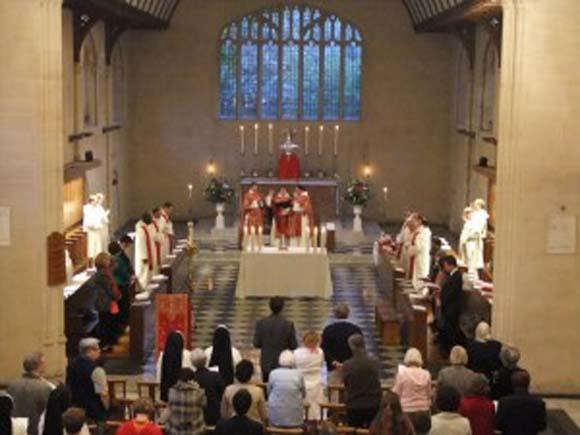 Pentecost at Blackfriars