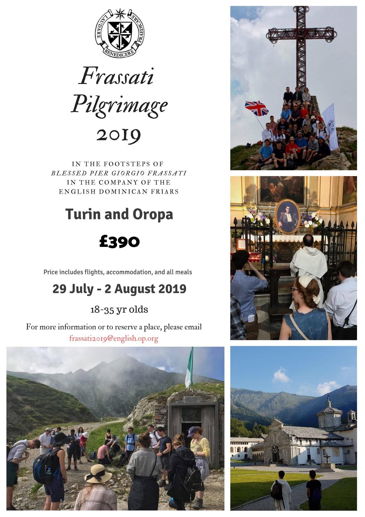 Frassati Pilgrimage 2019