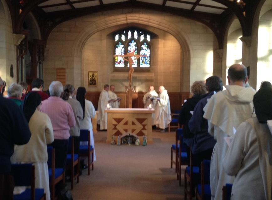 Celebration of the Eucharist at the Dominican Seminar