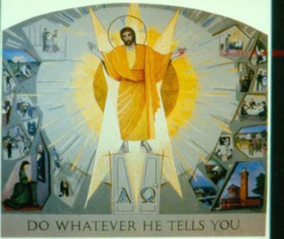 Art of the Redemption 8: Altarpiece Mural, Courtfield