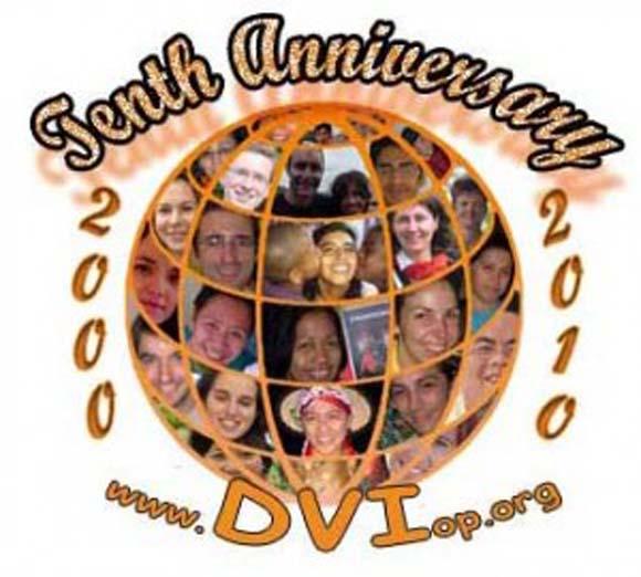 10th Anniversary of the Dominican Volunteers International (DVI)