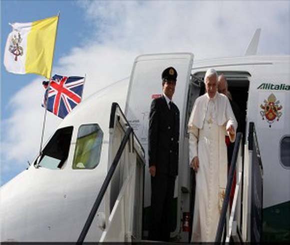 The Pope's First Day in Britain