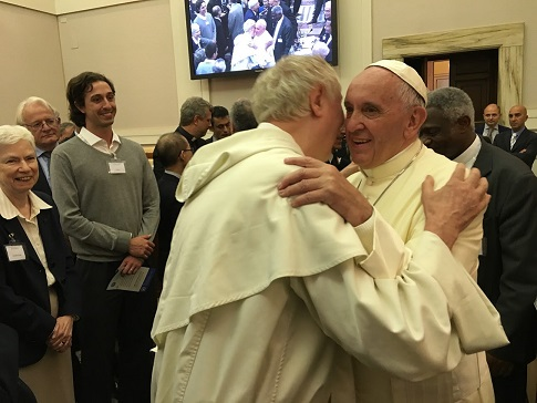 Pope Francis Pops in on Climate Change Conference