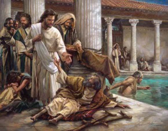 Tuesday of the Fourth Week of Lent – 'Do you want to be well?'