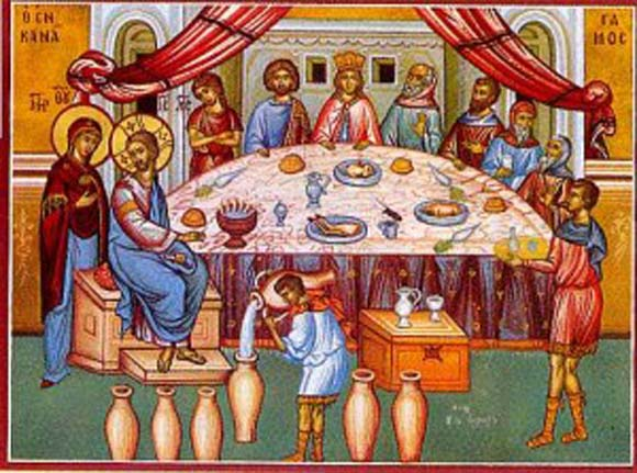The Second Mystery of Light – The Wedding at Cana