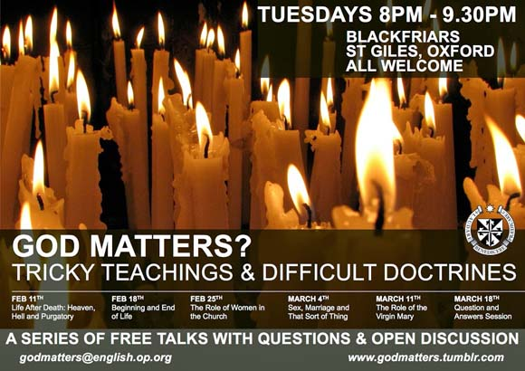 God Matters? Tricky Teachings and Difficult Doctrines