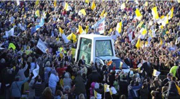 Pope Benedict in Glasgow