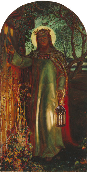 Advent Art: The Light of the World, by William Holman Hunt