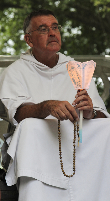 Fr Provincial meditates on the Holy Rosary